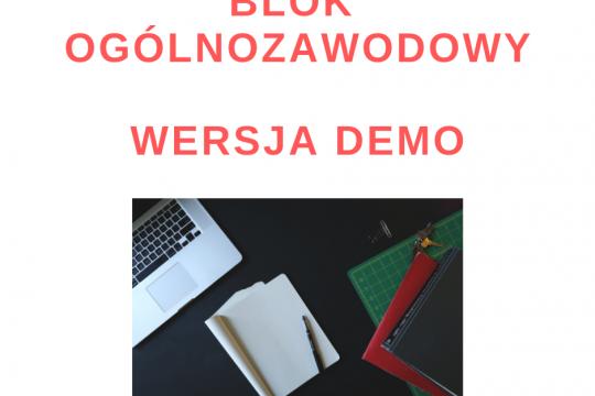 Blok ogólnozawodowy + UZASADNIENIA – wersja demo